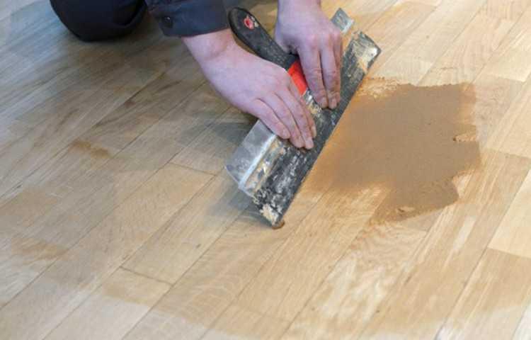 Шпаклевка для деревянного пола – как выбрать правильно?