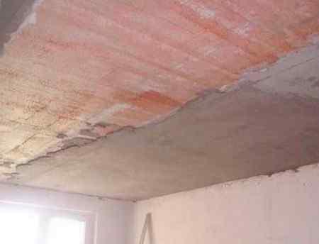 Штукатурка для потолка - состав и технология нанесения