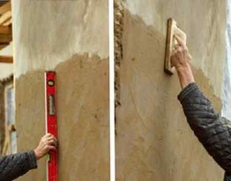 Штукатурка фасада дома своими руками