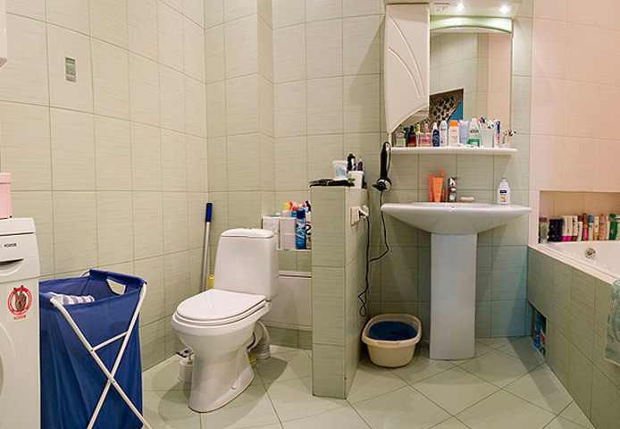 Совмещение туалета с ванной комнатой – «за и против»