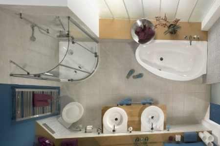 Недостатки объединения ванной и санузла