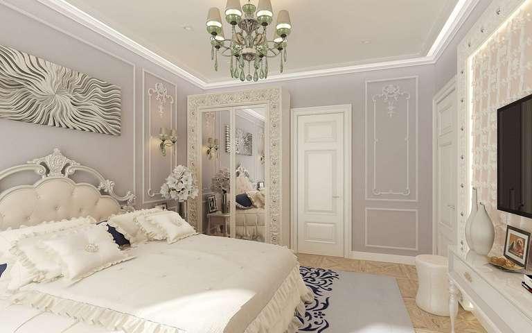Чем отделать потолок в спальне