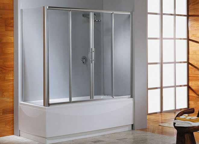 Стеклянная шторка для ванной и ее преимущества