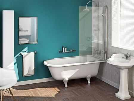 Как выбрать стеклянную шторку для ванной