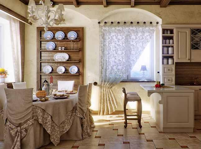Стиль кантри в интерьере своими руками - кухни и гостиной