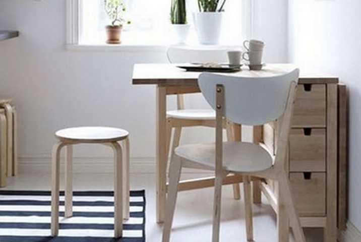 Стол для маленькой кухни - особенности выбора