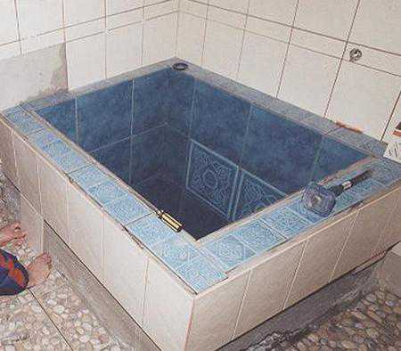 Крытый бассейн своими руками