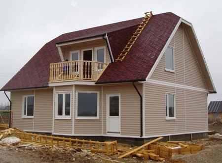 Строительство дома из сэндвич-панелей и его плюсы