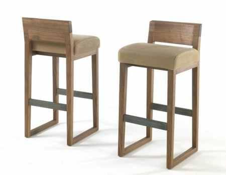 Барные стулья из дерева