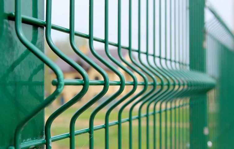 Сварной 3Д забор