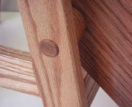 Табурет-лестница своими руками - схемы и чертежи