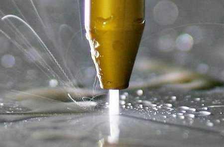 Технология обработки металлов - гидроабразивная резка металла