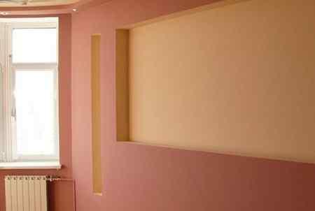 Этапы окрашивания стен
