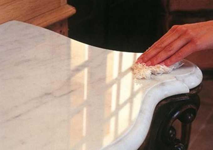 Правила эксплуатации изделий из мрамора