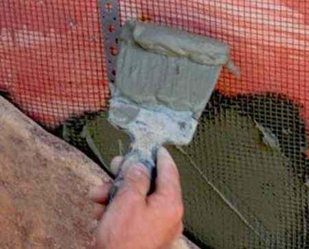 Укладка рваного камня