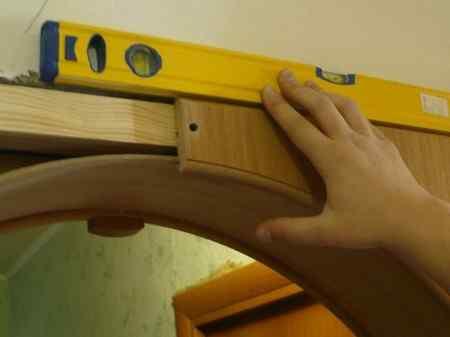 Установка межкомнатной арки своими руками