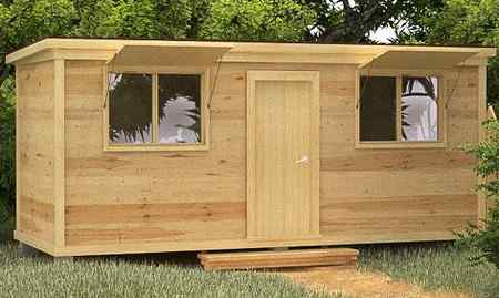 Вагончик для строительства своими руками из древесины