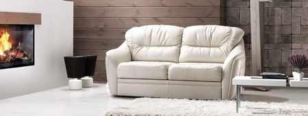 Выбор кожаного дивана и его чистка в домашних условиях