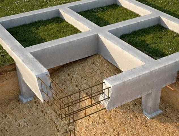 Виды фундаментов и их назначение в строительстве
