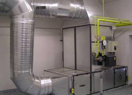 Воздушное и электрическое отопление