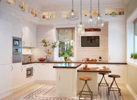 Кухня - планировка и оформление
