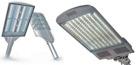 Виды светодиодных светильников и их преимущества