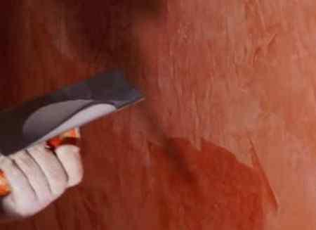 Как наносить воск на стену