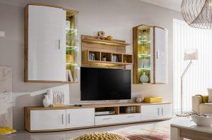 Корпусная мебель для гостиной: виды и правила подбора
