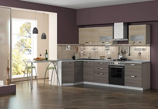 Кухня с стиле лофт