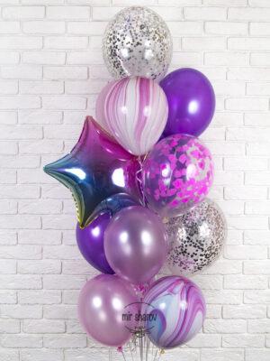 Ваши дети и девушка радуется гелиевыми и воздушными композициями из шаров?