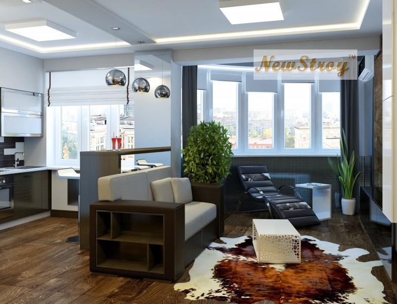 Проектирование дизайн интерьера квартир