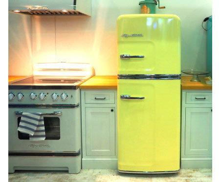 Как выглядит холодильник в стиле ретро