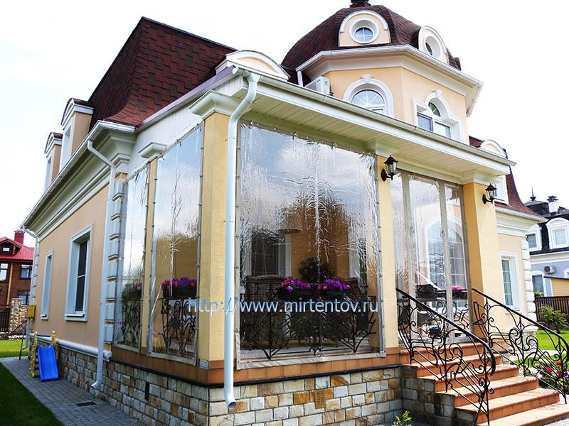 Мягкие окна для беседок и террас