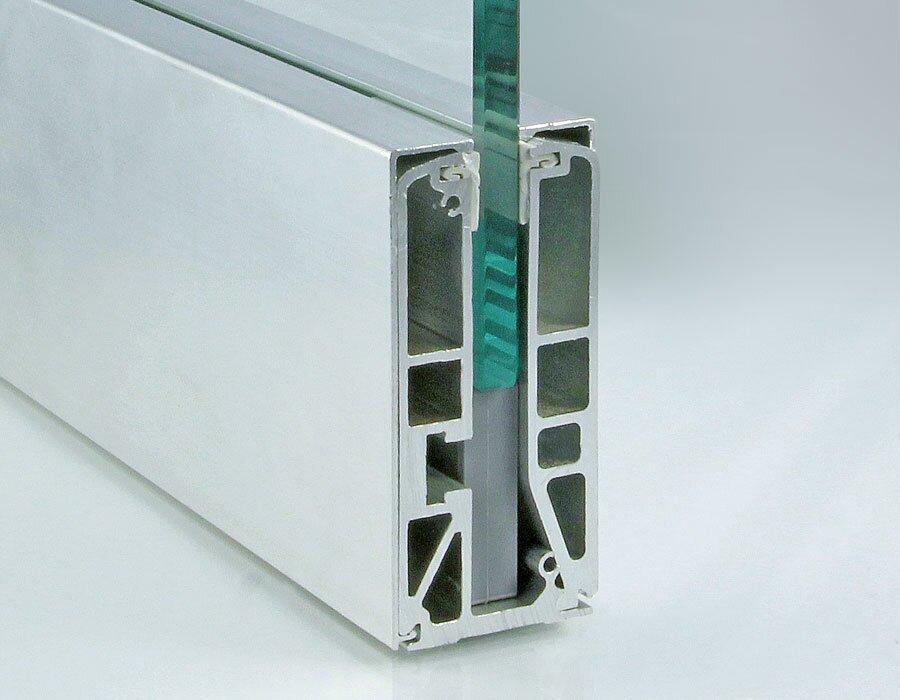 П-профиль алюминиевый для стекла