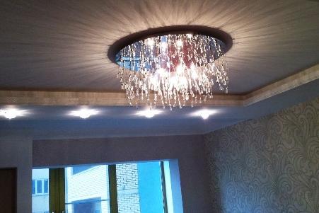 Какие лучше светильники для натяжных потолков