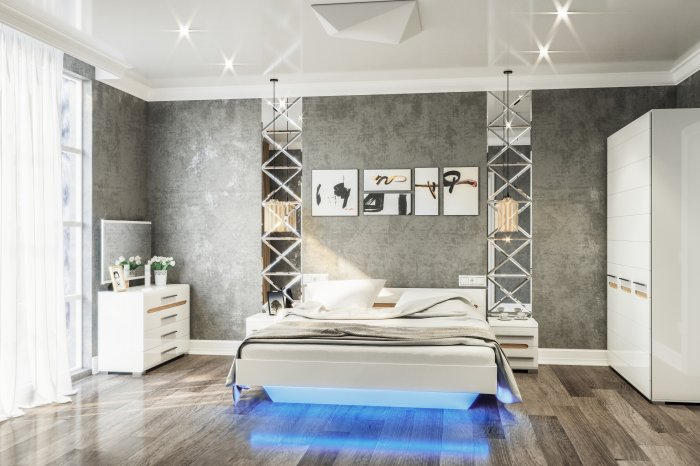 Модульная система Бянко — стильный и современный набор мебели для Вашей комнаты