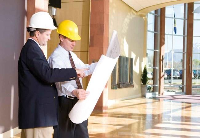 Обследование стен и перегородок здания