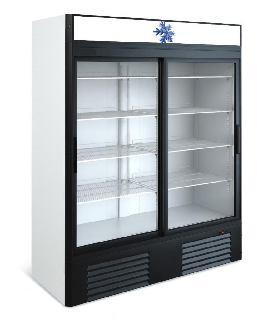 Холодильные шкафы двухдверные