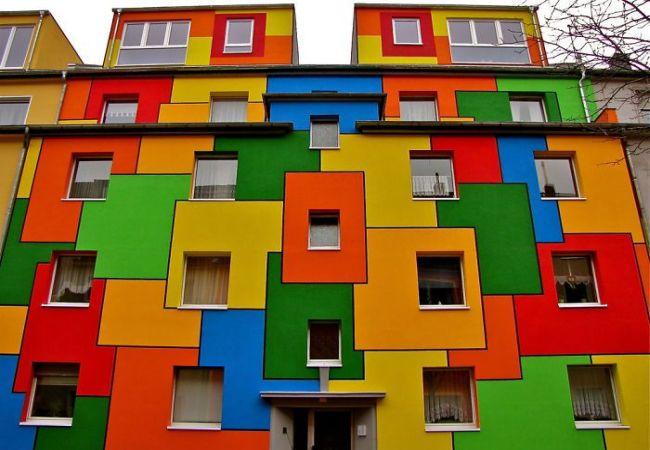 Наружная отделка стен. Современная краска для фасадных работ