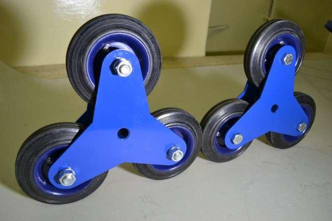 Складское оборудование, колеса для тележек
