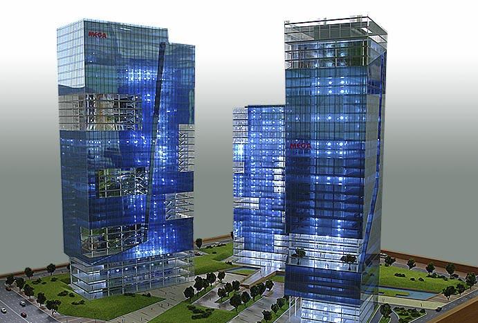 Изготовление макетов в Москве жилых и промышленных зданий коттеджных поселков и оборудования