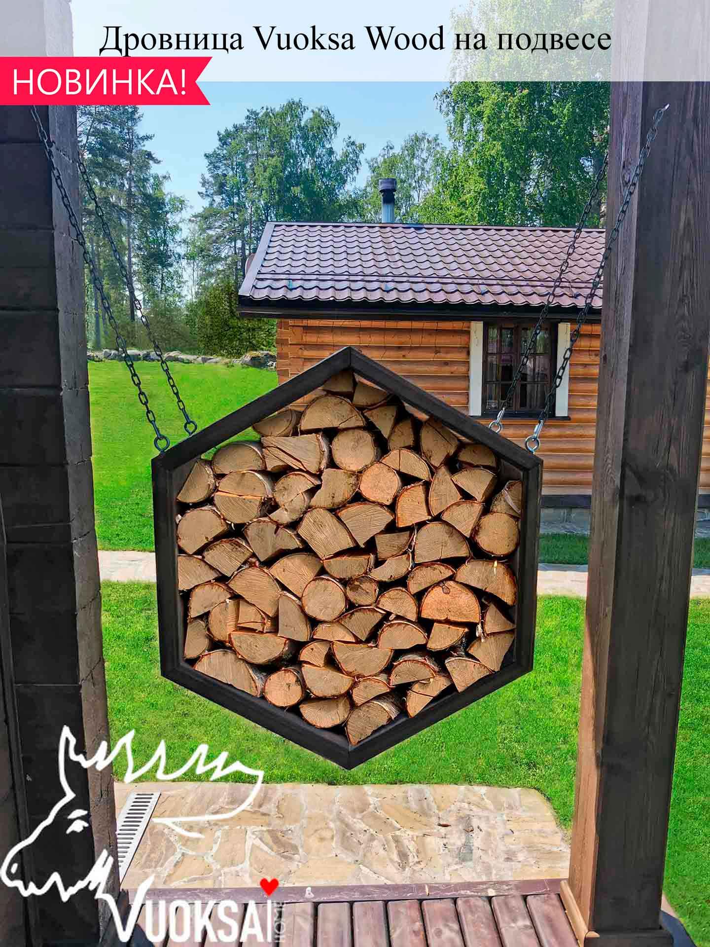 Уличные дровницы Vuoksa-Wood