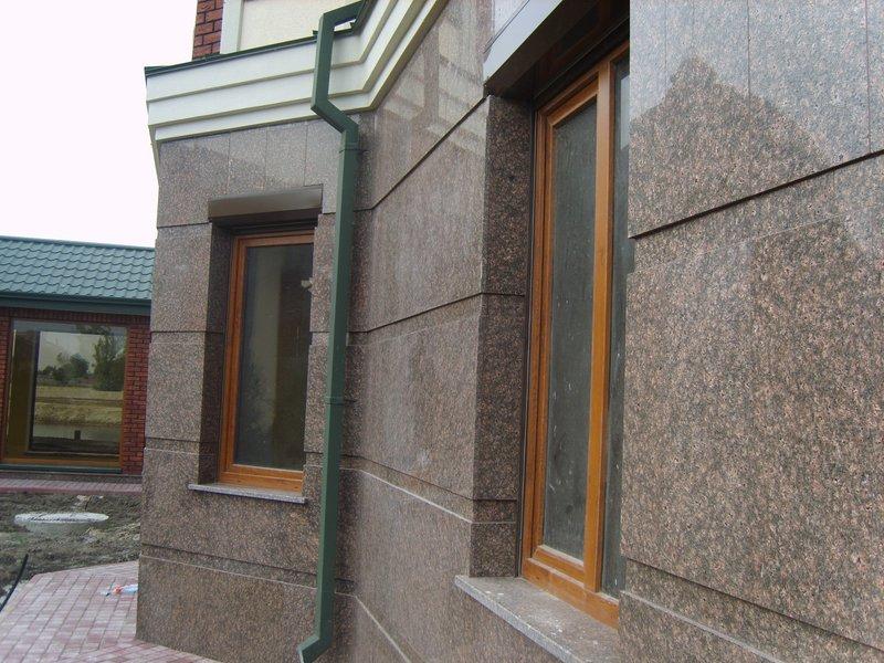 Проектирование фасадов из мрамора