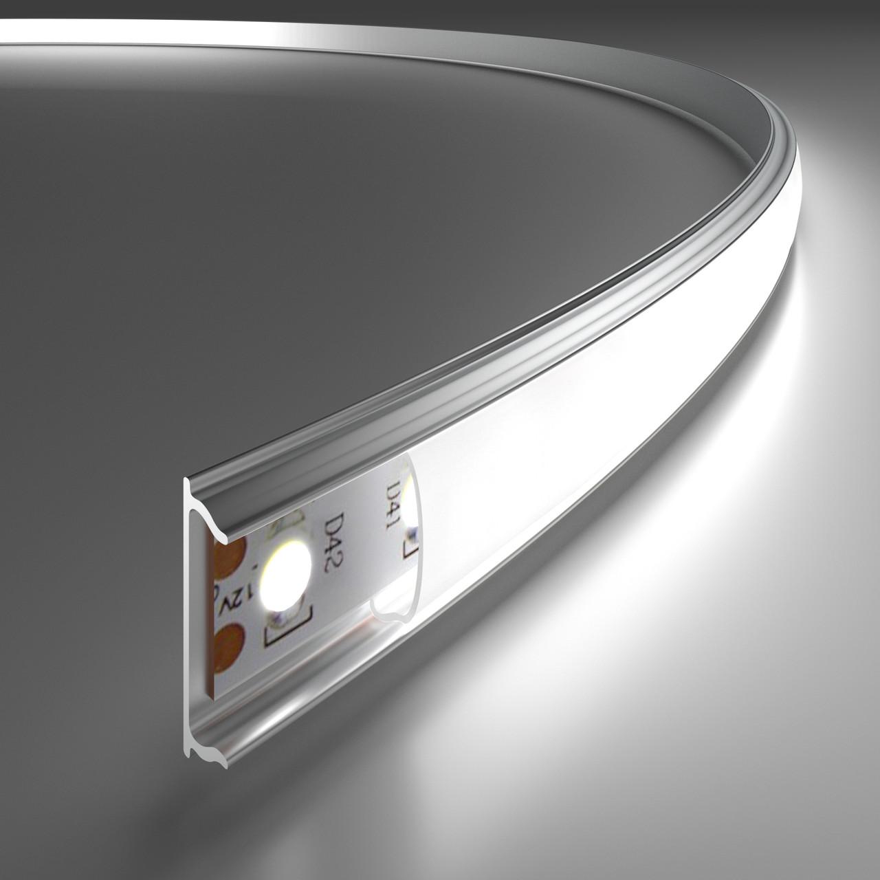 Алюминиевый профиль для светодиодной ленты в Киеве