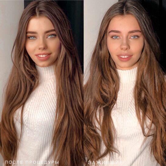 Перманентный макияж и окрашивание волос — популярные услуги в Киеве
