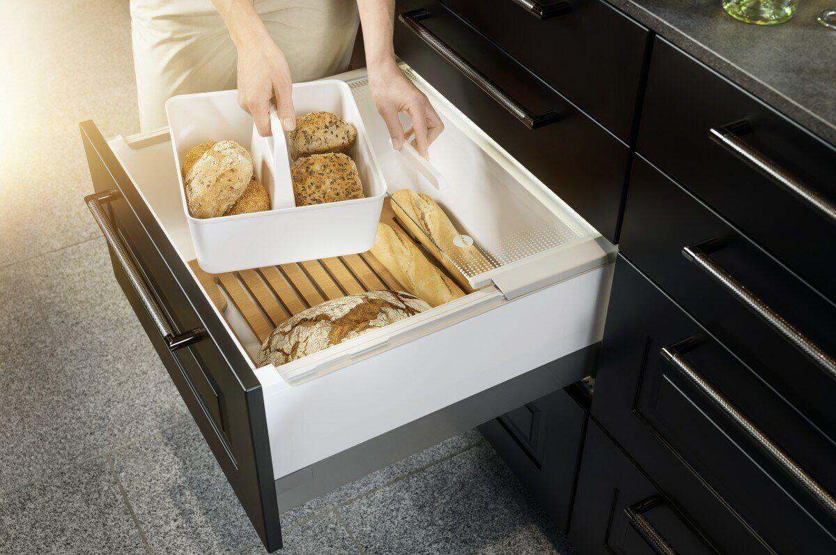 Системы выдвижных ящиков Hailo: все для идеального хранения на кухне
