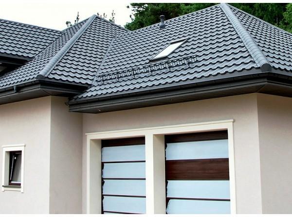 Металочерепиця – найпопулярніше покриття для даху в Одесі